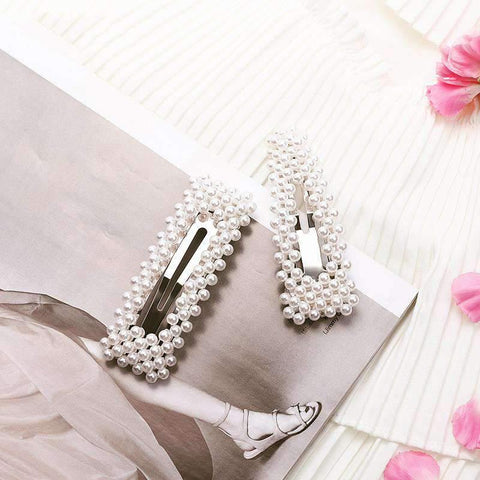 Chic Pearl Hairpin gallery 3