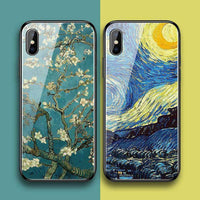 Concise Painting Sun Flower Phone Case for Apple iPhone