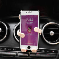 Cute Bear Car Vent Mount for Mobile Phone