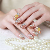 Bridal Magic Press Nail Manicure