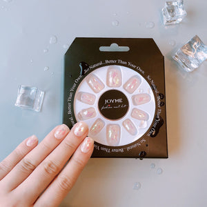 Glass Blast Magic Press Nail Manicure
