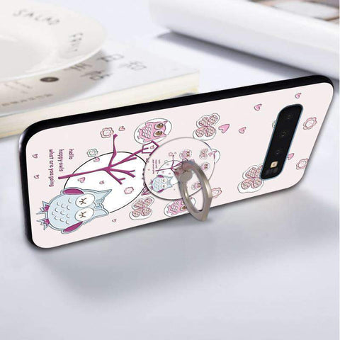 Cute Cartoon Phone Case with Ring for Samsung gallery 17