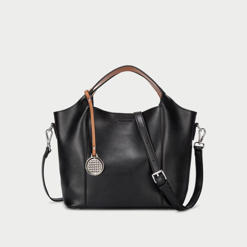 Top Handle Hobo Tote Bag With Strap