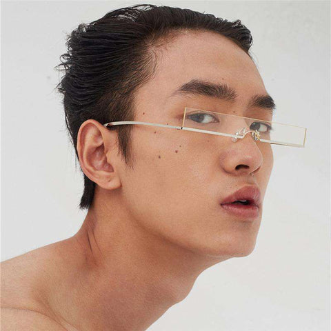 Vintage Narrow Square Shape Resin Lens Light weight Sunglasses gallery 3