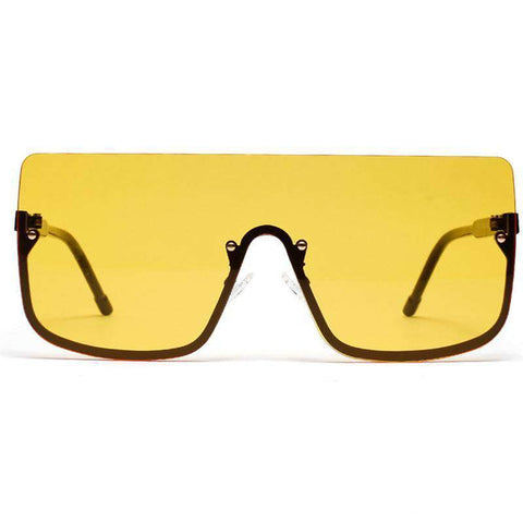 Chic Square Shape Windproof Lens with Half Frame Sunglasses gallery 7