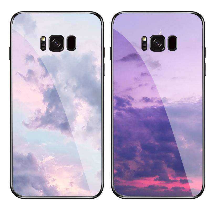 Sexual Apathy Style Tempered Glass Phone Case for Samsung