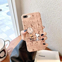 Cartoon Frosted Shatter-resistant Case for iPhone