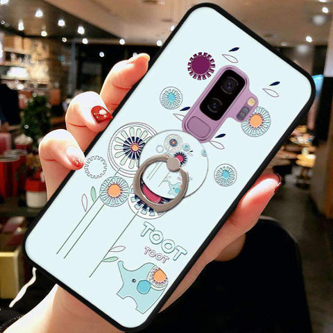 Cute Cartoon Phone Case with Ring for Samsung gallery 1