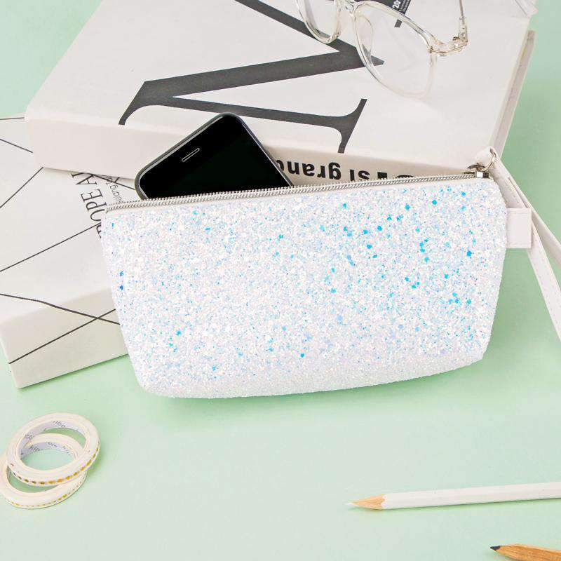 Creative Design Fashion Girl Stationery Bag full of Sequin