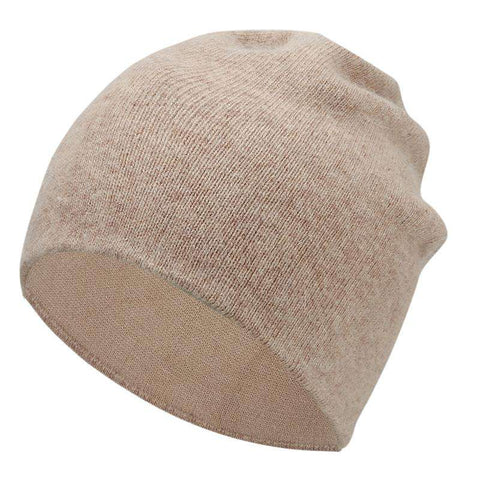 Women's Solid-color Stretch Beanie Hat gallery 3