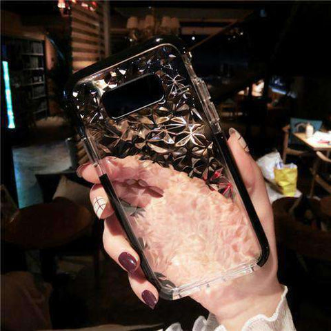 Transparent Diamond Phone Case for Samsung gallery 3