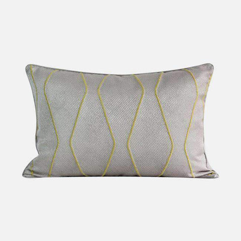 Geometric Embroidery Pattern Pillow Cove gallery 9