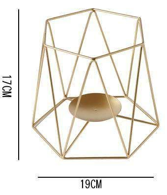 Metal Grid Candle Holder gallery 9