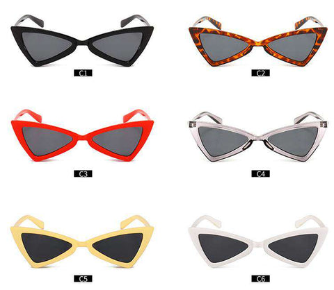 Vintage Butterfly TriangleShape Simple Sunglasses gallery 14