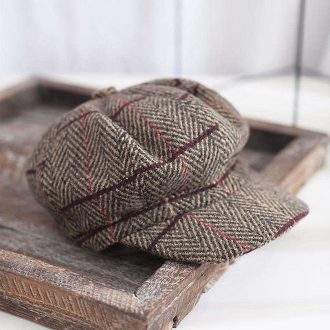 Winter Vintage Checked Hats gallery 3