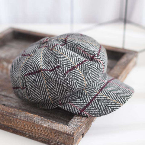 Winter Vintage Checked Hats gallery 2