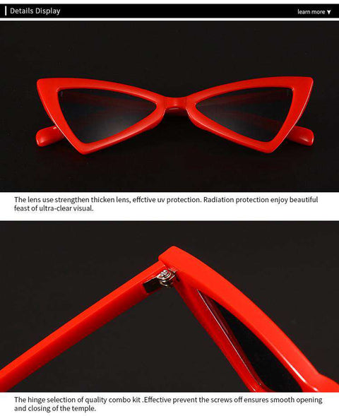 Vintage Butterfly TriangleShape Simple Sunglasses gallery 15
