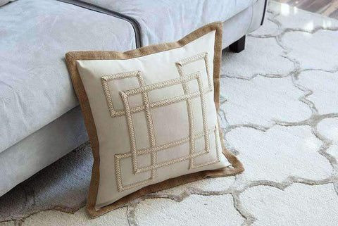 Nordic Embroidery Linen Pillow Cover gallery 3