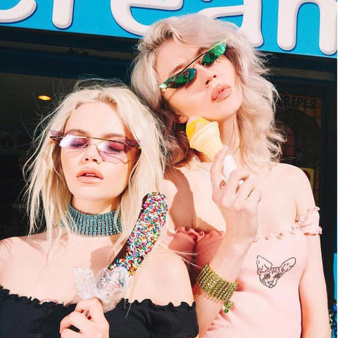 Butterfly Shape Lens Fashion Design Sunglasses gallery 17