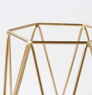 Metal Grid Candle Holder gallery 5
