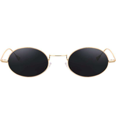 Oval Shape Resin Lens Cool Style Sunglasses gallery 9