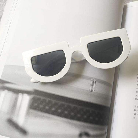 Chic Oval Shape Lens with wide Frame Sunglasses gallery 19