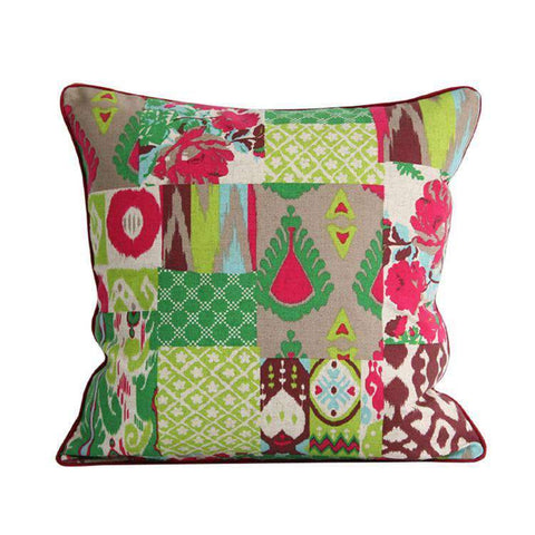 Geometric Country Style Color Printing Pillow Cover gallery 1