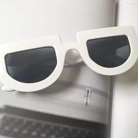 Chic Oval Shape Lens with wide Frame Sunglasses gallery 17