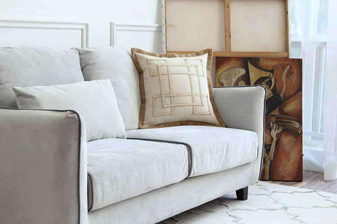 Nordic Embroidery Linen Pillow Cover gallery 6