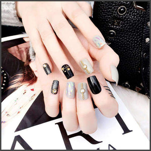 Deep Ocean Magic Press Nail Manicure
