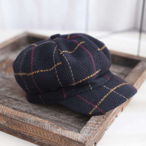 Winter Vintage Checked Hats gallery 5