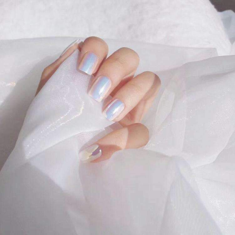 Laser Beam Magic Press Nail Manicure