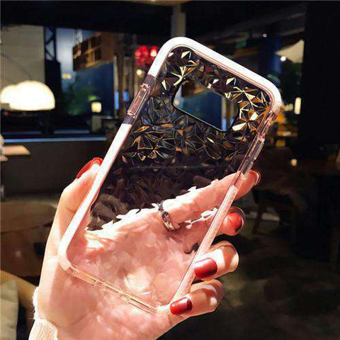 Transparent Diamond Phone Case for Samsung gallery 2