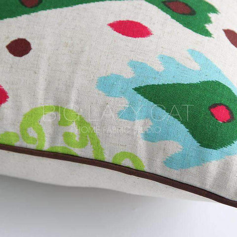 Geometric Country Style Color Printing Pillow Cover gallery 4