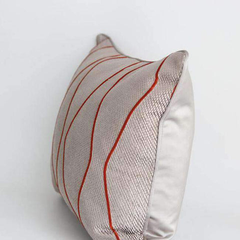 Geometric Embroidery Pattern Pillow Cove gallery 6
