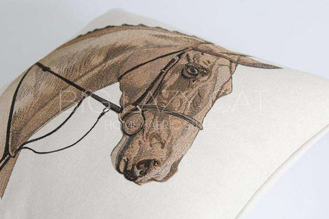 British Royal Horse Pattern Pillow Cover gallery 6