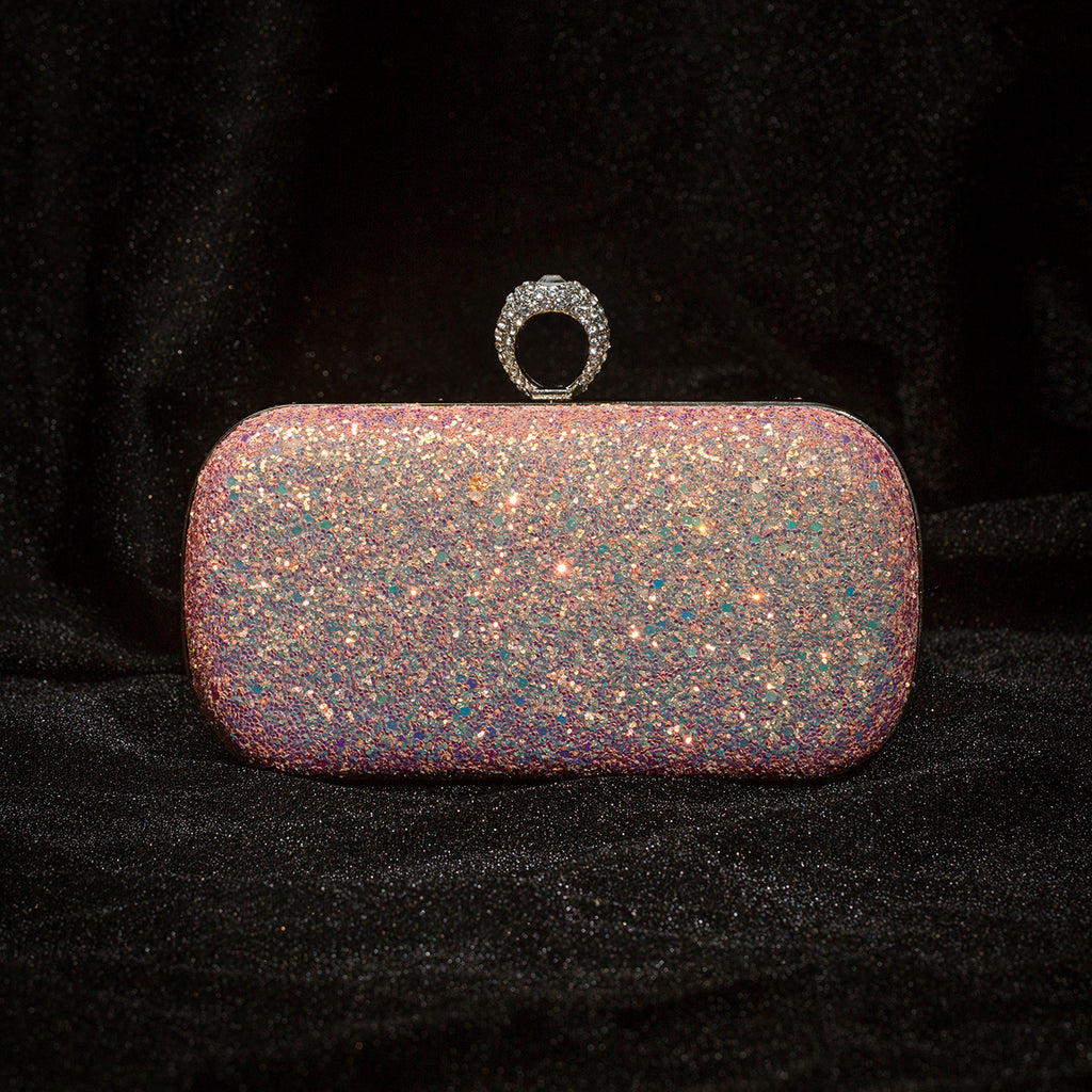 Glitter Full of Sequin Evening Bag Clutch Purses