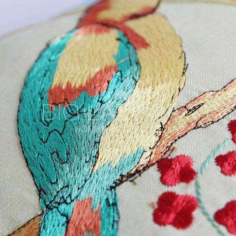 Miracle Garden Painted Pillow Cover gallery 3