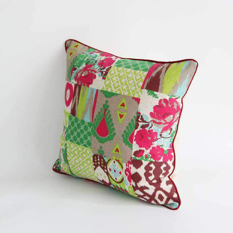 Geometric Country Style Color Printing Pillow Cover gallery 5