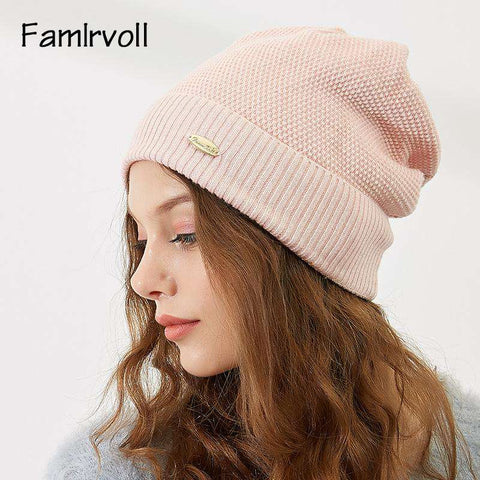 Solid-color Wool-blend Beanie Hat gallery 13