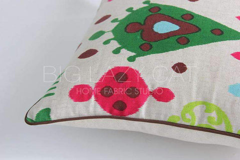 Geometric Country Style Color Printing Pillow Cover gallery 3