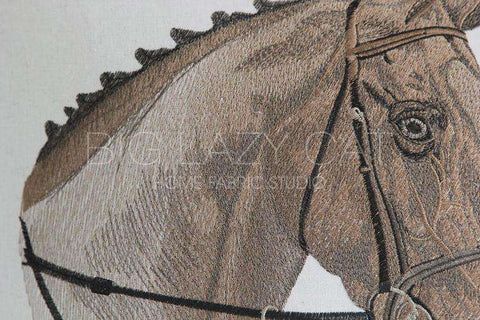 British Royal Horse Pattern Pillow Cover gallery 4