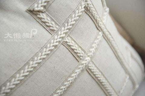 Nordic Embroidery Linen Pillow Cover gallery 4