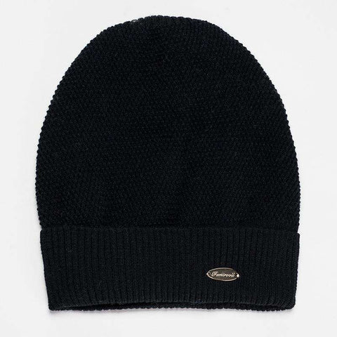 Solid-color Wool-blend Beanie Hat gallery 7