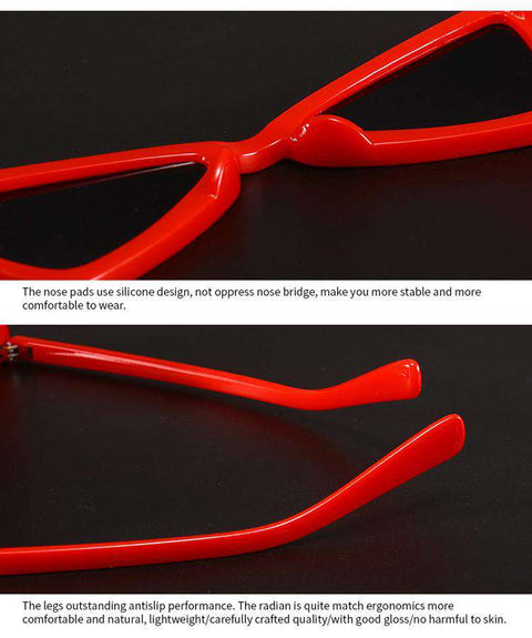 Vintage Butterfly TriangleShape Simple Sunglasses gallery 16