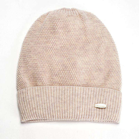 Solid-color Wool-blend Beanie Hat gallery 5