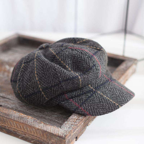 Winter Vintage Checked Hats gallery 4