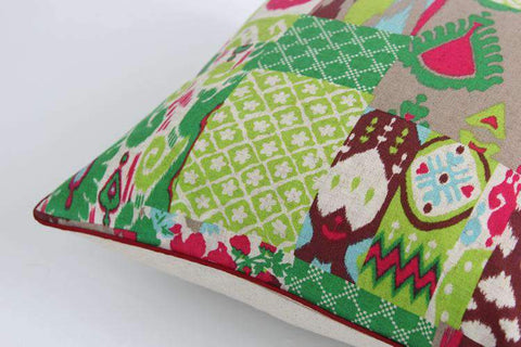 Geometric Country Style Color Printing Pillow Cover gallery 6