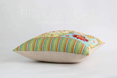 Miracle Garden Painted Pillow Cover gallery 9
