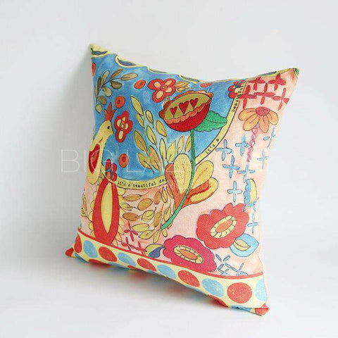 Beautiful Day Painted Pillow Cover gallery 4